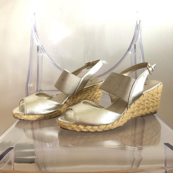 Open-toe sandal espadrilles